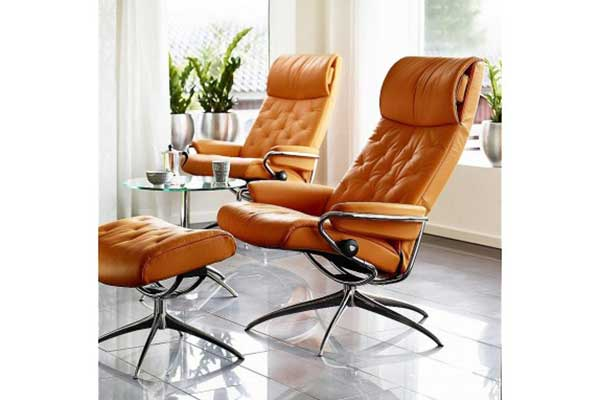 stressless metro high back recliner